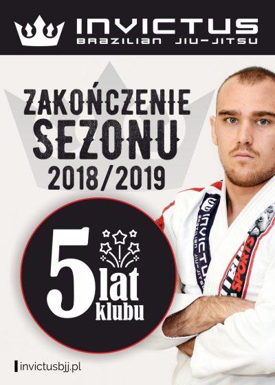 Zakończenie sezonu 2018/2019, oraz 5-cio lecie klubu INVICTUS BJJ  23.06.br