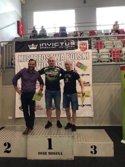 INVICTUS BJJ na 1 miejscu w klasyfikacji drużynowej na MP Invictus BJJ KIDS 25.05